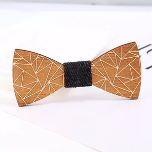 🌖✨ Wooden Bow Tie for Men or Boy 💫